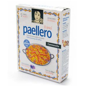 Paellero box carmencita