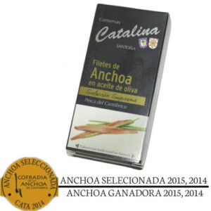 anchovies Anchoas conservas-catalina awards