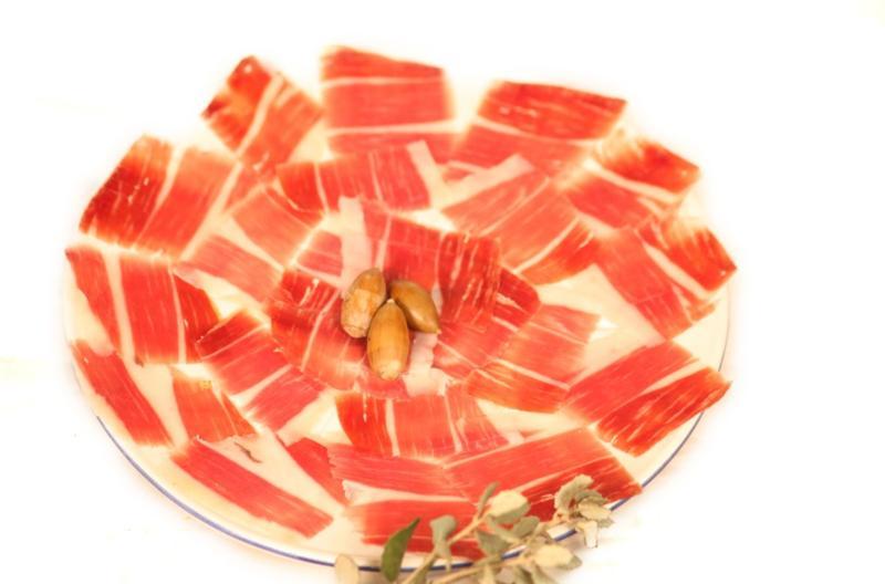 Jamon plato spanish deli - Platos con jamon iberico ...