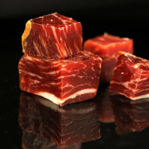 Bite-sized cubes of Jamon Iberico (600grms)
