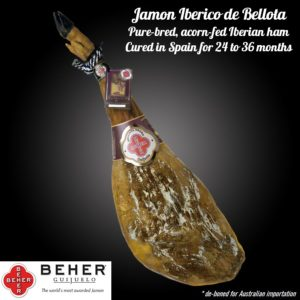Black Label Jamon 2.7kg