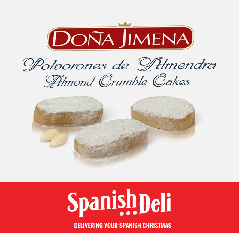 Polvorones – Almond Cookies – Spanish Deli
