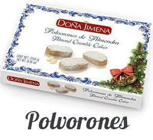 Polvorones – Almond Cookies