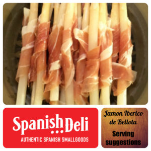 Jamon on a stick