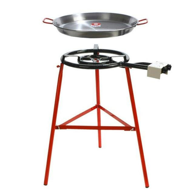 Paella 2 Ring Gas Burner Kit Spanish Deli