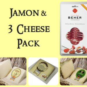 SOLD OUT – Jamon & 3 Cheese Hamper