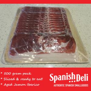 Bulk Sliced Jamon (500gr) – RED – sold out