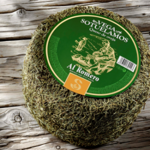 3 packs of Sheeps Cheese with Rosemary (12 months aged) 3 * 220gr