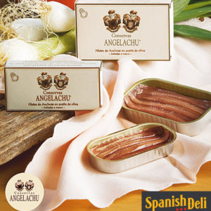 Anchovies (anchoas) in olive oil