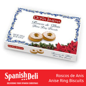 Roscos de Anis 250g – Spanish anise ring biscuits