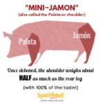 Jamon and paleta aka