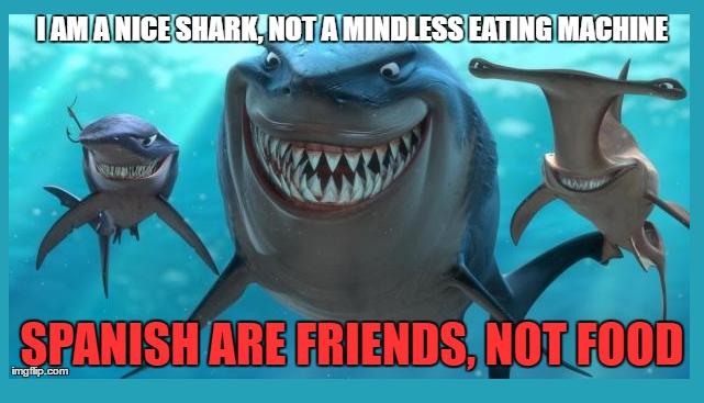 Spanish shark attack in Australia