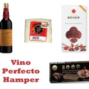"""""""Vino Perfecto"""" Hamper"""