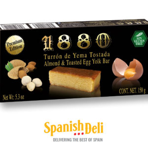 Turron Yema Tostada – PREMIUM EDITION – Almond and Toasted Egg Yolk Turron
