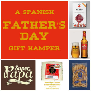 Fathers Day Spanish Hamper