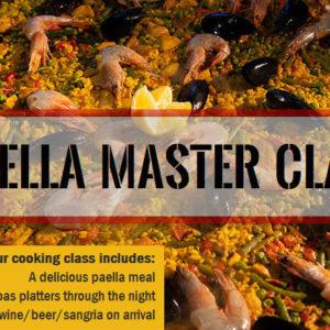 Paella Master Class – Thursday, November 1st