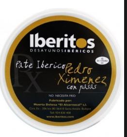 "Iberitos  ""Iberian Pate al Pedro Ximenez"""