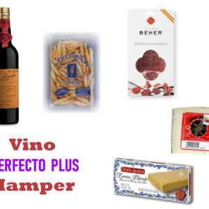 """Vino Perfecto Plus"" with Turron Hamper"