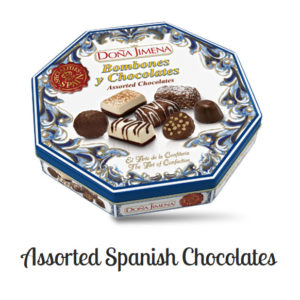 Dona Jimena Surtido Bombones – Assorted Spanish chocolates