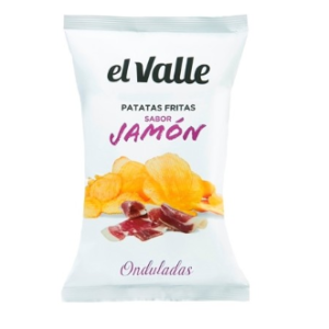 Patatas sabor a Jamon (Jamon flavour Chips)