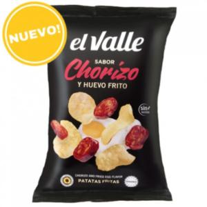 Patatas de Huevo y Chorizo (Chorizo Chips)